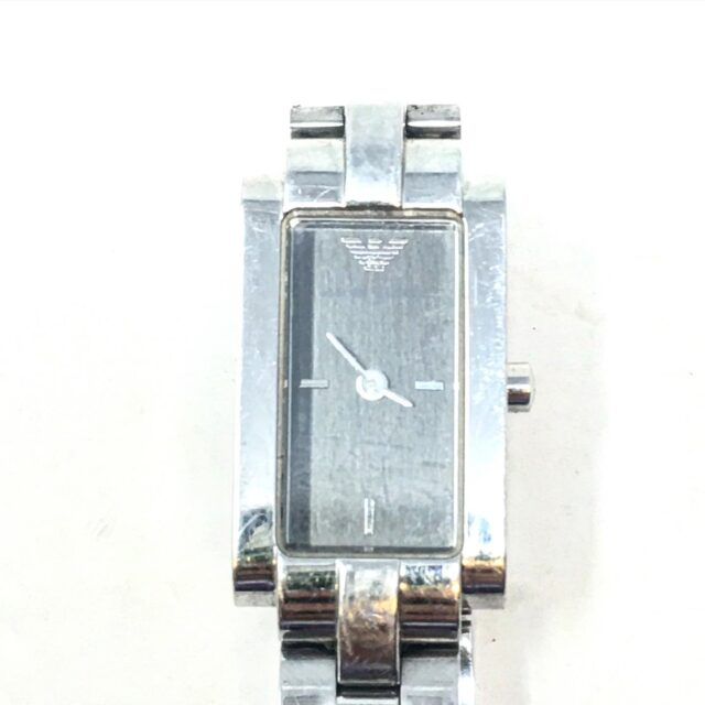 EMPORIO ARMANI Silver Tone Watch 19145 1