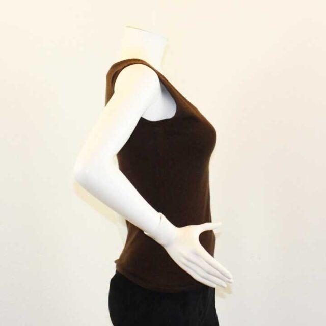 ESCADA Brown Cashmere Top Size XS 26266 2