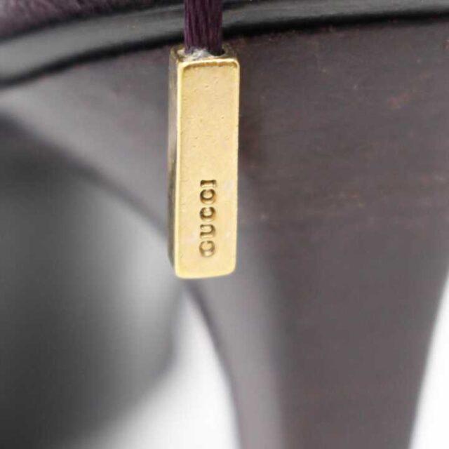 GUCCI Purple Suede Heels US 7 EU 37 28797 6