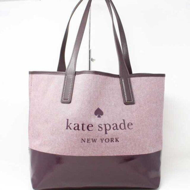 KATE SPADE Purple Tote 28824 1