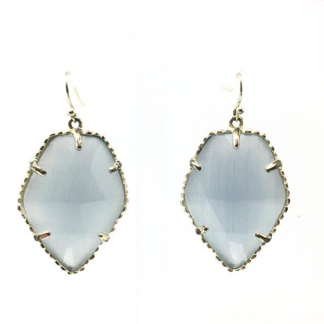 KENDRA SCOTT Corley Gray Earrings 28586 1