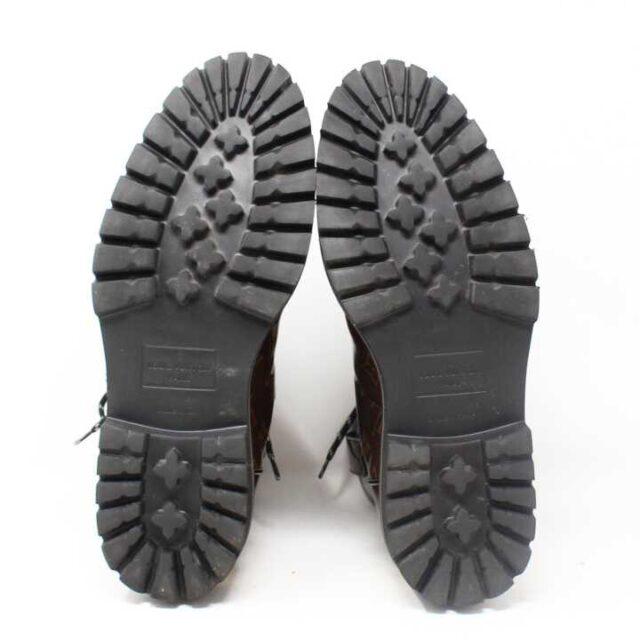 LOUIS VUITTON Monogram Canvas Glaze Outland Ankle Boots US 9 EU 39 29059 5