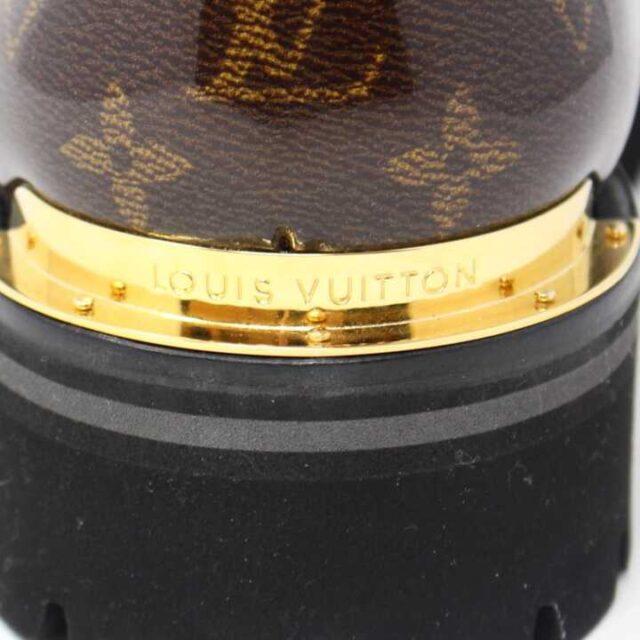 LOUIS VUITTON Monogram Canvas Glaze Outland Ankle Boots US 9 EU 39 29059 8