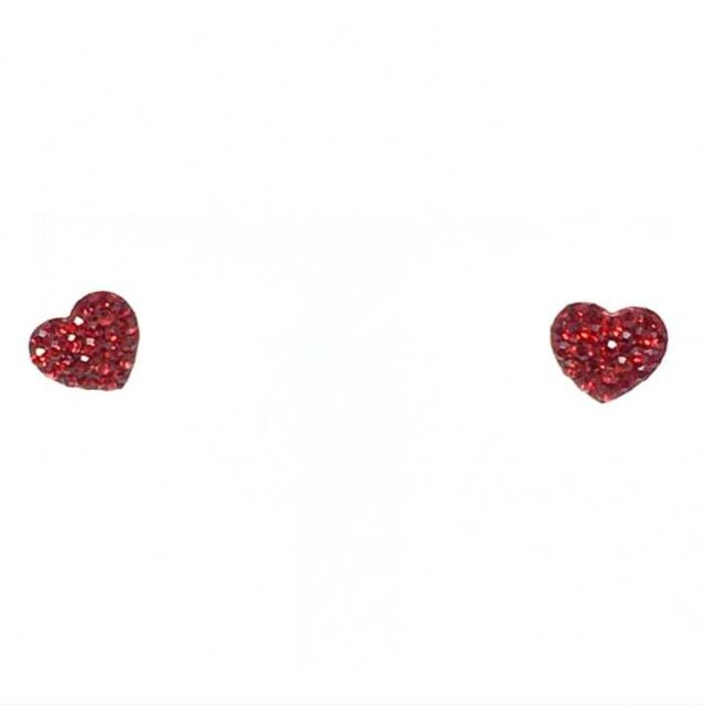 LUKA LIFESTYLE Red 14Kt. Gold Earrings 29035 1
