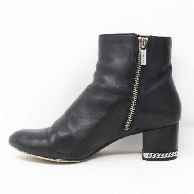 MICHAEL KORS Black Leather Boots US 6.5 EU 36.5 28946 3