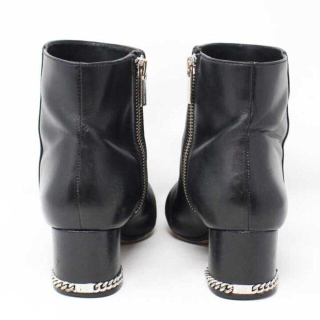 MICHAEL KORS Black Leather Boots US 6.5 EU 36.5 28946 6