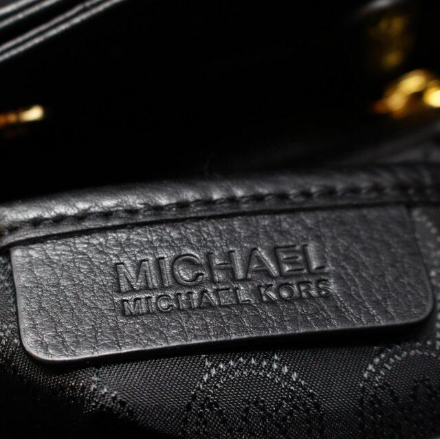 MICHAEL KORS Black Pebbled Leather Crossbody Tote 22557 5