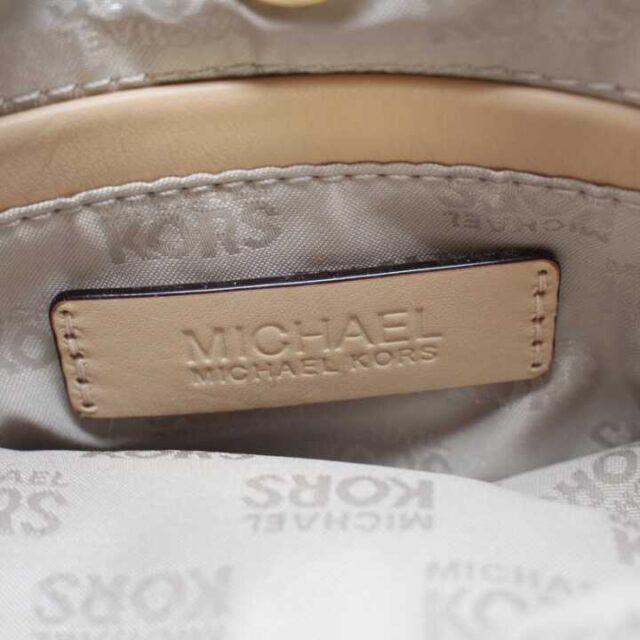 MICHAEL KORS Polyvinyl Chloride Brown Crossbody 29001 4