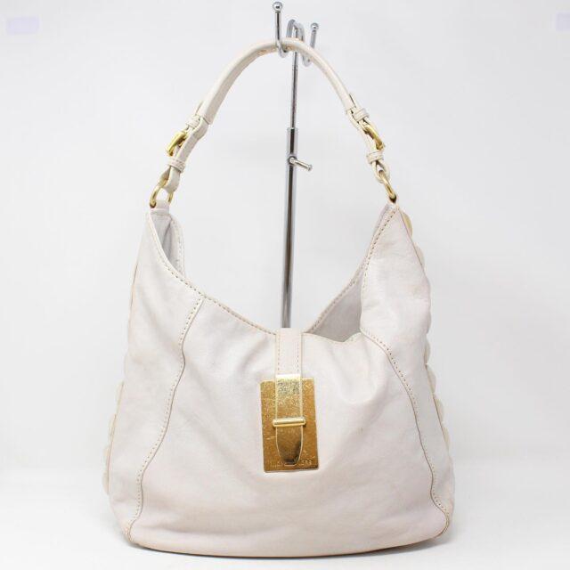 MICHAEL KORS White Leather Handbag 19045 1