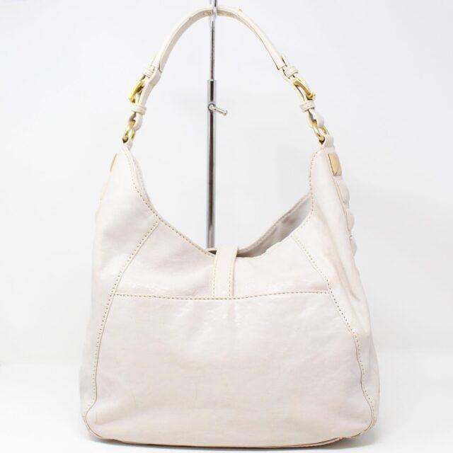 MICHAEL KORS White Leather Handbag 19045 3