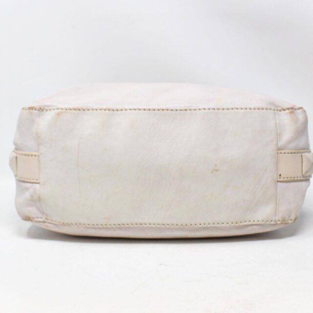 MICHAEL KORS White Leather Handbag 19045 4