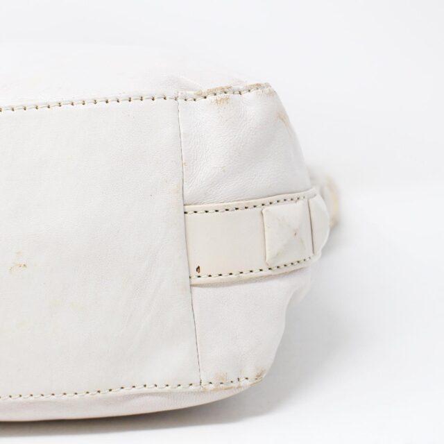 MICHAEL KORS White Leather Handbag 19045 5