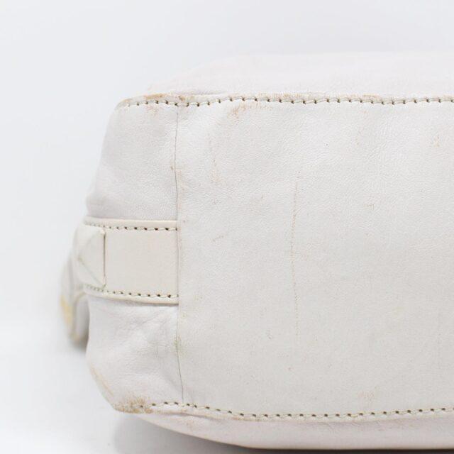 MICHAEL KORS White Leather Handbag 19045 6