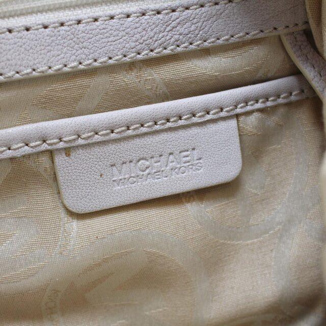MICHAEL KORS White Leather Handbag 19045 9