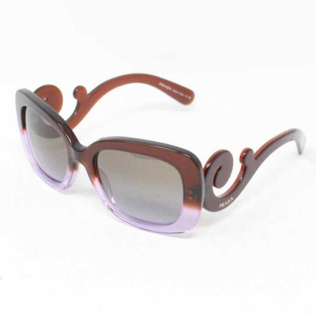 PRADA Brown Lilac Sunglasses 28787 1