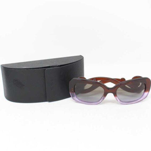 PRADA Brown Lilac Sunglasses 28787 9