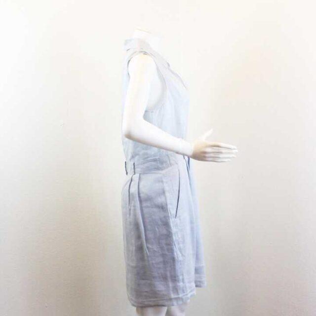 THEORY Baby Blue Gary Dress Size 10 Large 25784 2