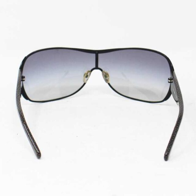 TORY BURCH Black Round Sunglasses 27305 6 1