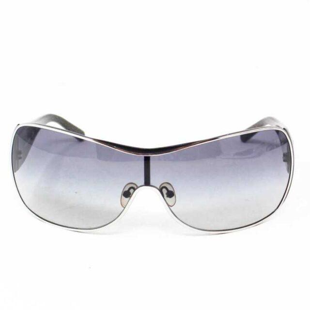 TORY BURCH Black Round Sunglasses 27305 7 1