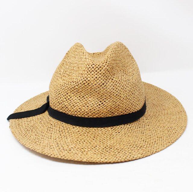 Tan Wicker Fashion Hat 26867 1