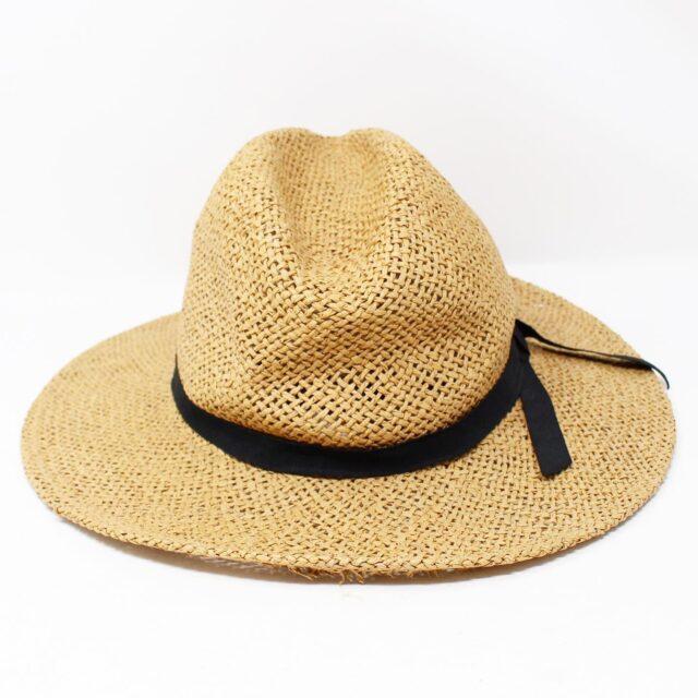 Tan Wicker Fashion Hat 26867 3