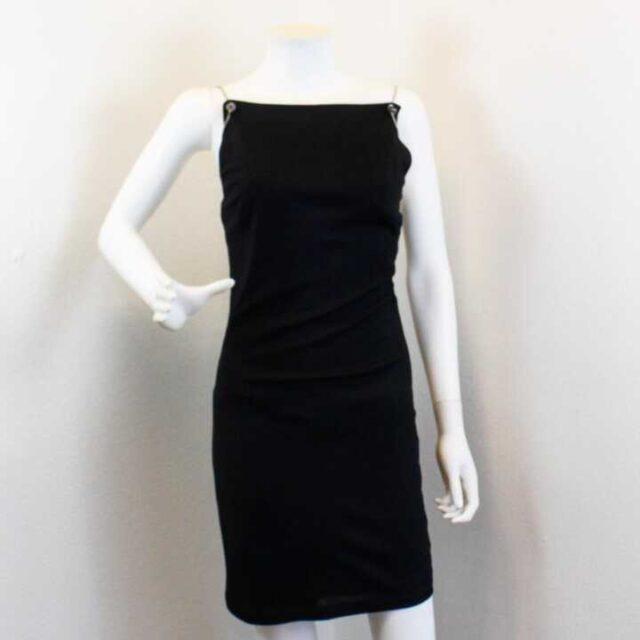 VERSACE Black Dress Size 28 XS 25914 1