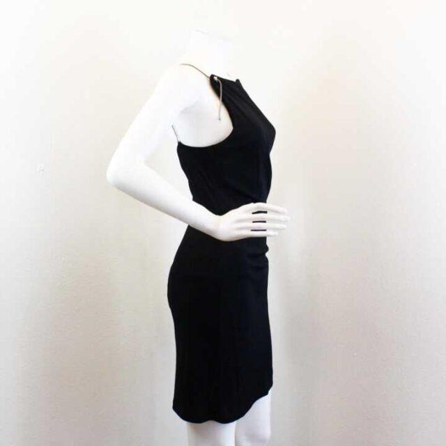 VERSACE Black Dress Size 28 XS 25914 2
