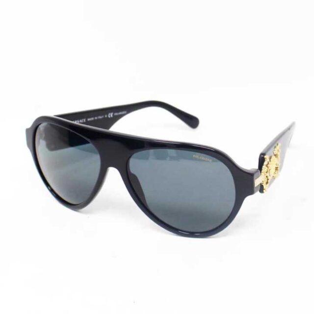 VERSACE Black Polarized Sunglasses 29046 1