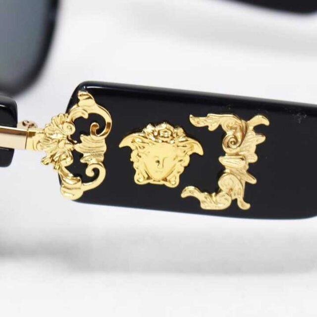 VERSACE Black Polarized Sunglasses 29046 3