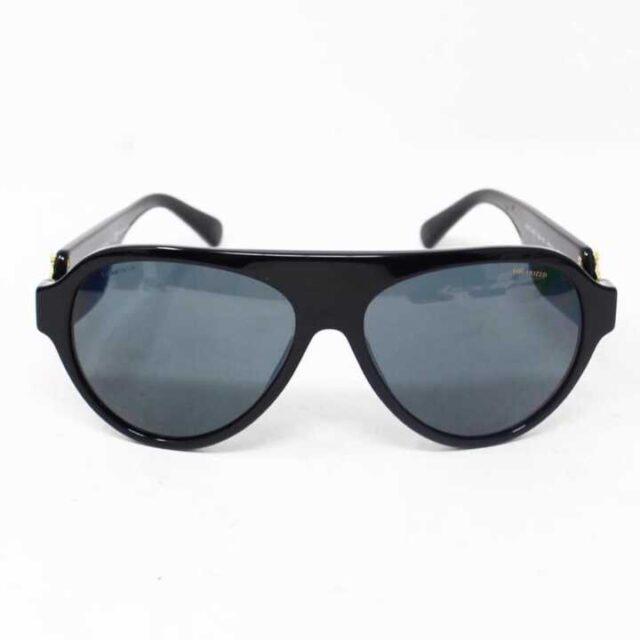 VERSACE Black Polarized Sunglasses 29046 7