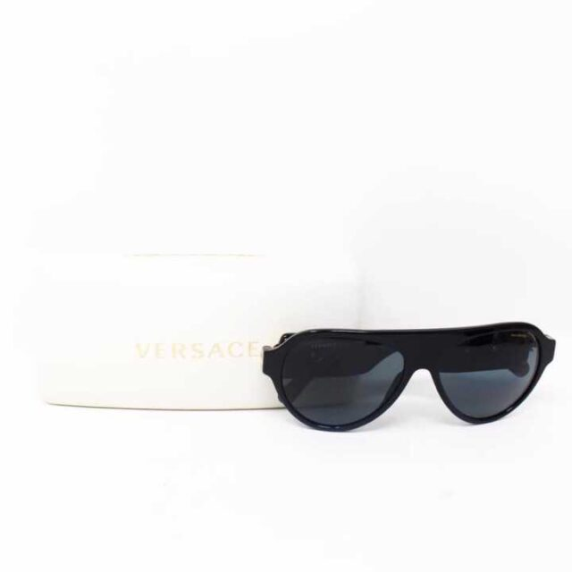 VERSACE Black Polarized Sunglasses 29046 8