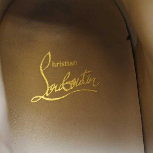 CHRISTIAN LOUBOUTIN Black Mens Leather Louis Flat Sneakers US 9.5 EU 39.5 29249 6