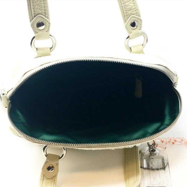 COACH White Sequence Handbag 29225 5