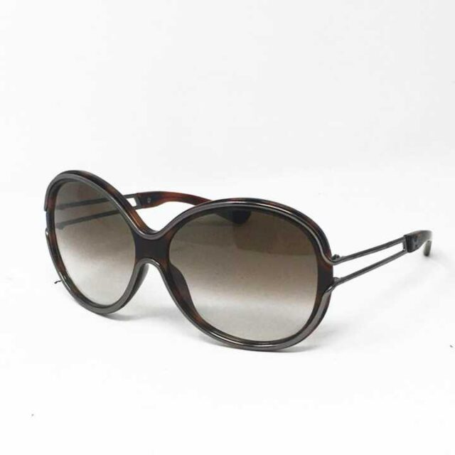 HOGAN Brown Round Sunglasses 29248 1