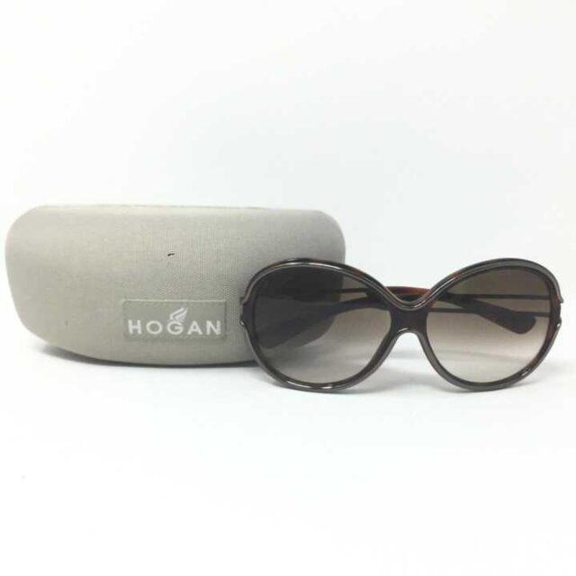 HOGAN Brown Round Sunglasses 29248 6