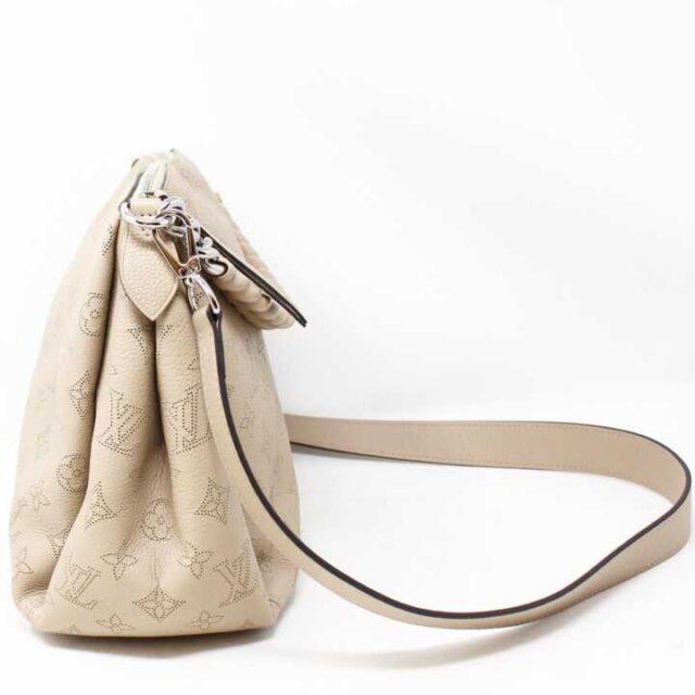 LOUIS VUITTON Tan Pebbled Leather Babylone Chain BB Crossbody 29136 2