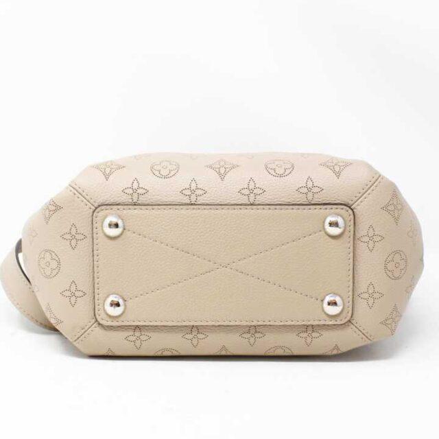 LOUIS VUITTON Tan Pebbled Leather Babylone Chain BB Crossbody 29136 4