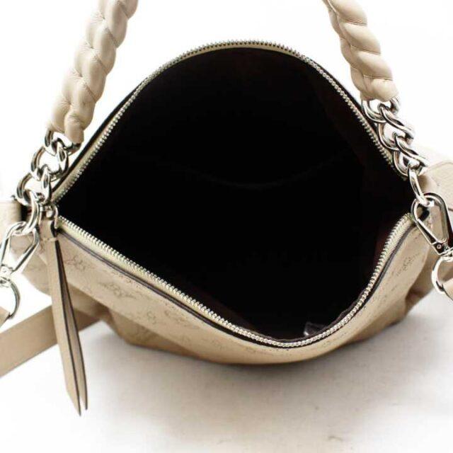 LOUIS VUITTON Tan Pebbled Leather Babylone Chain BB Crossbody 29136 5