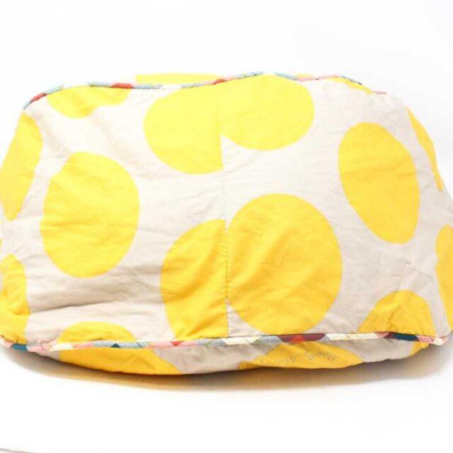 MARC JACOBS Yellow Polka Dot Tote 29100 4