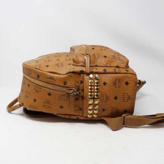 MCM Tan Leather Mini Backpack 29120 2