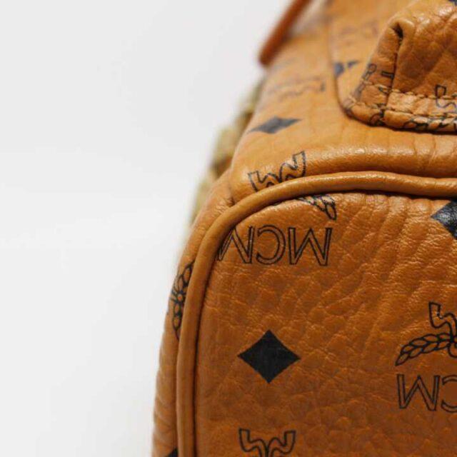 MCM Tan Leather Mini Backpack 29120 3
