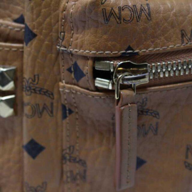 MCM Tan Leather Mini Backpack 29120 5