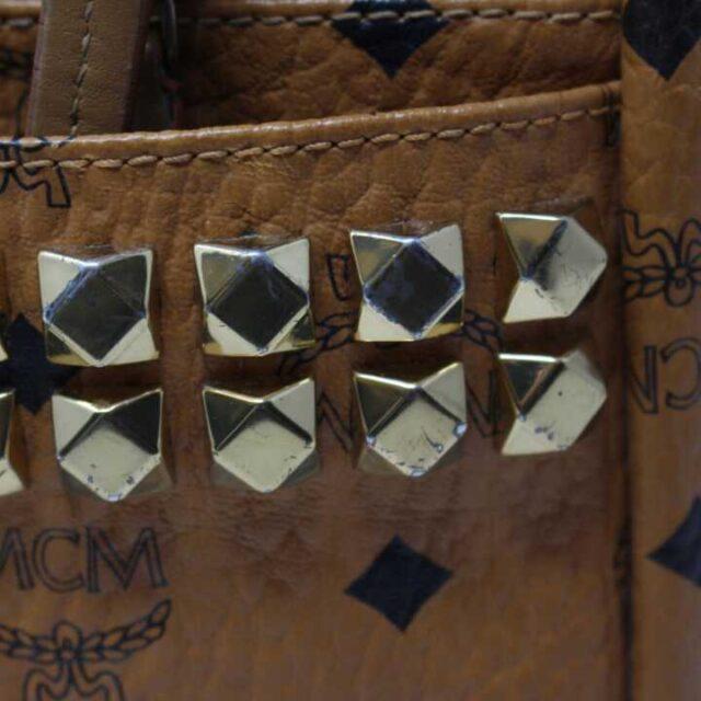 MCM Tan Leather Mini Backpack 29120 6