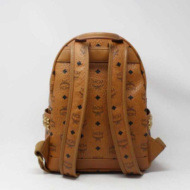 MCM Tan Leather Mini Backpack 29120 7