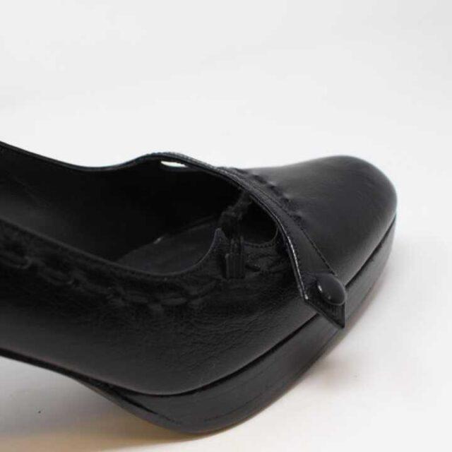TUART WEITZMAN Black Leather Pumps US 7.5 EU 37.5 29185 5