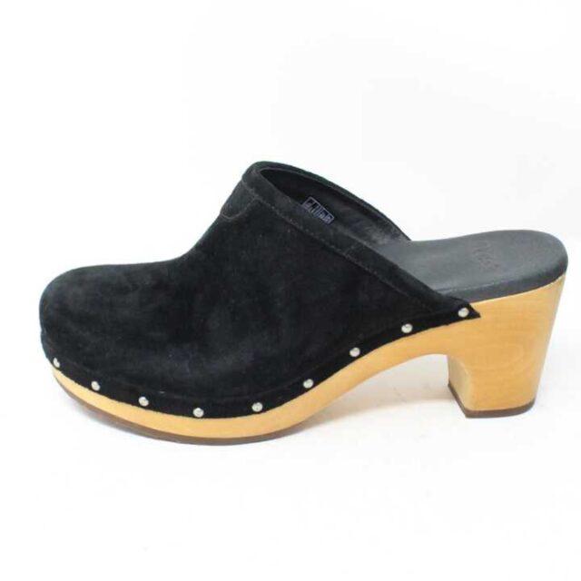 UGG Black Velvet Clogs US 6 EU 36 29174 3