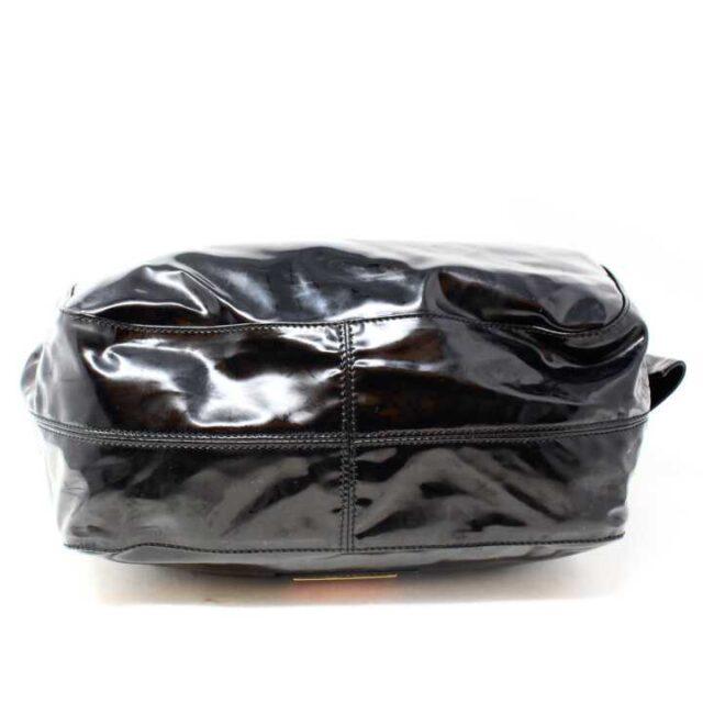 VALENTINO GARAVANI Black Patent Leather Handbag 29104 4