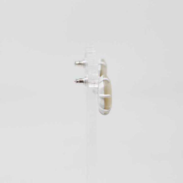 KENDRA SCOTT White Morgan Stud Earrings 29323 2