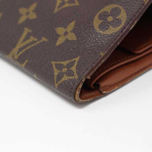 LOUIS VUITTON Monogram Canvas International Bifold Wallet AYB055 8
