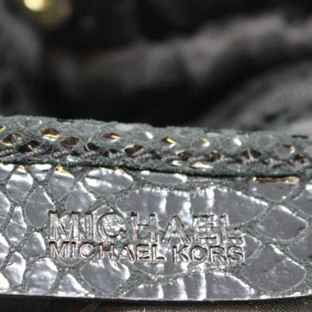 Michael Kors Black Snake Print Tote 29381 8